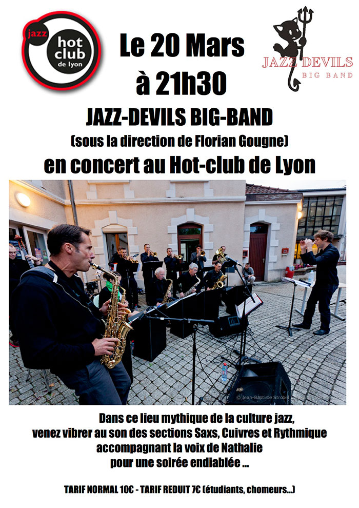 Concert Big band Jazz-Devils -